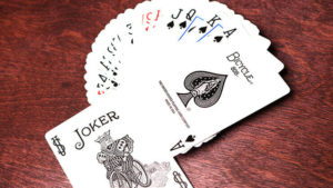 Bicycle Black Playing Cards by US Playing Cards