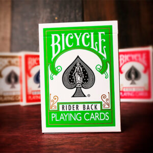 Bicycle Green Playing Cards by USPCC