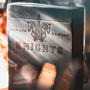 Knights V2 (White) Playing Cards