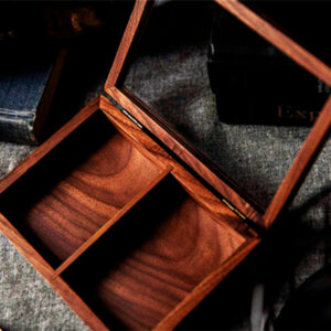 a Wooden Collection Box  by TCC